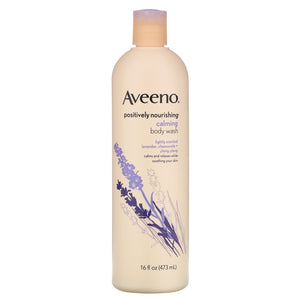 AVEENO POSITIVELY NOURISHING, CALMING BODY WASH (473ml)
