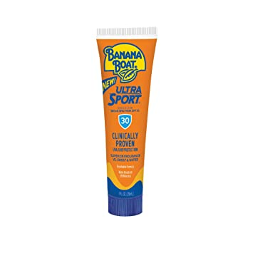 BANANA BOAT ULTRA SPORT SUNSCREEN LOTION, BREATHABLE FORMULA (88ml)