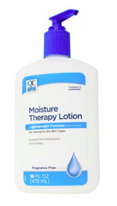 QC MOISTURE THERAPY LOTION, FRAGRANCE FREE - 473 ml