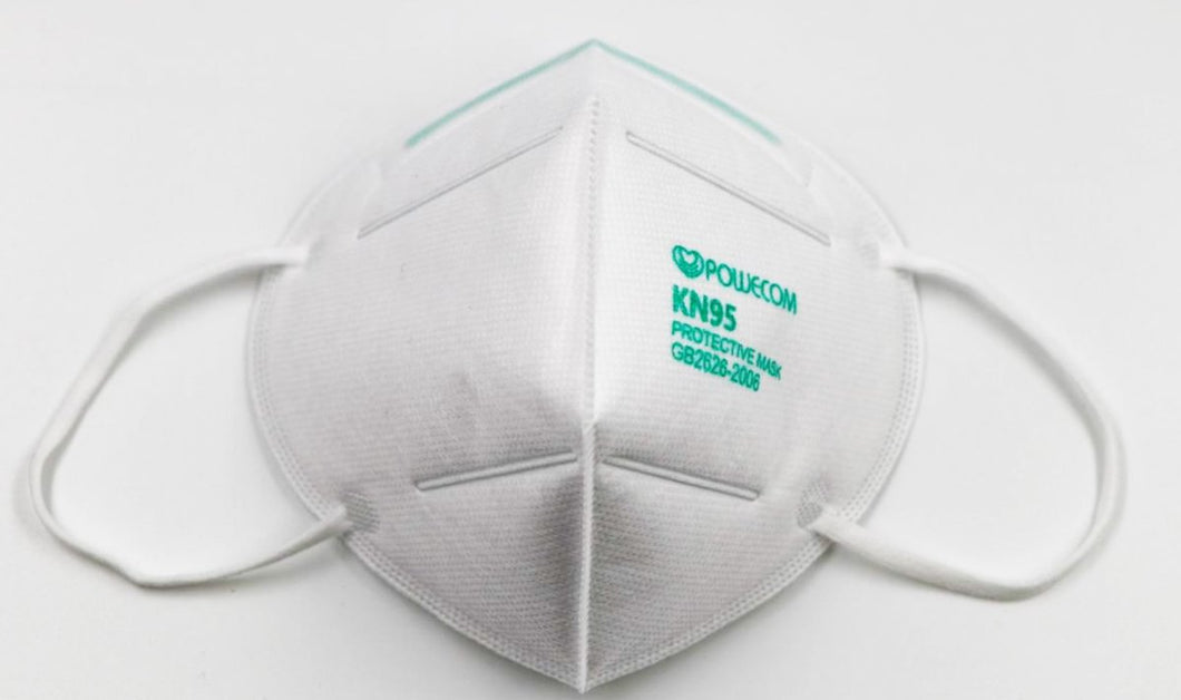 POWECOM KN95 PROTECTIVE MASKS GB2626 - 2006 (1 SINGLE MASK)