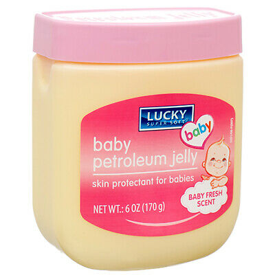 LUCKY SUPER SOFT BABY PETROLEUM JELLY, BABY FRESH SCENT (170g)