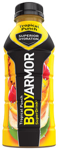 BODY ARMOR SUPERIOR HYDRATION SUPERDRINK, TROPICAL PUNCH (473ml)