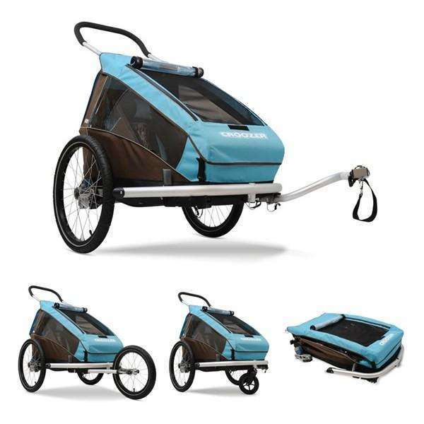 Croozer Kid Plus Single Trailer (3-in-1)