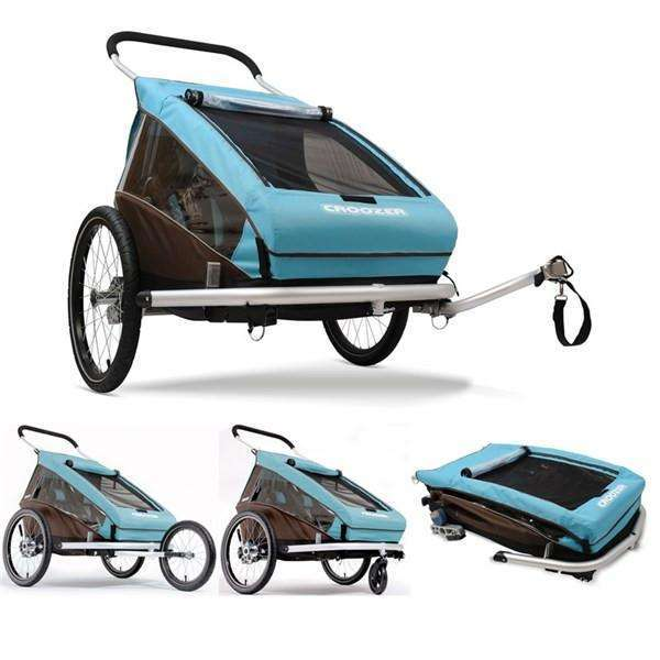 Croozer Kid Plus Double Trailer (3-in-1)