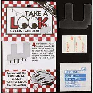 Bike Peddler Take-A-Look Cyclist Mirror Helmet Adapter