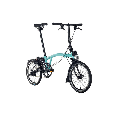 Brompton 2018 Black Edition  M6L Turkish Green
