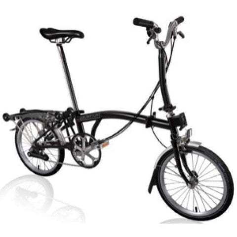 Brompton 2018 Black Edition M6R Black (with Dynamo)
