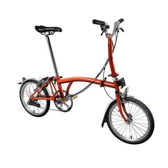 Brompton 2019 M6L Flame Lacquer