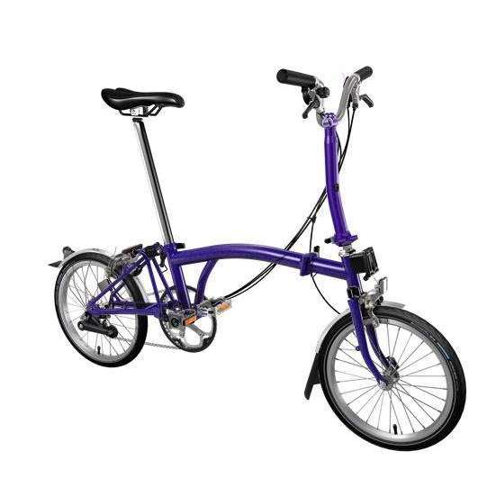 Brompton 2019 M6L Purple Metallic