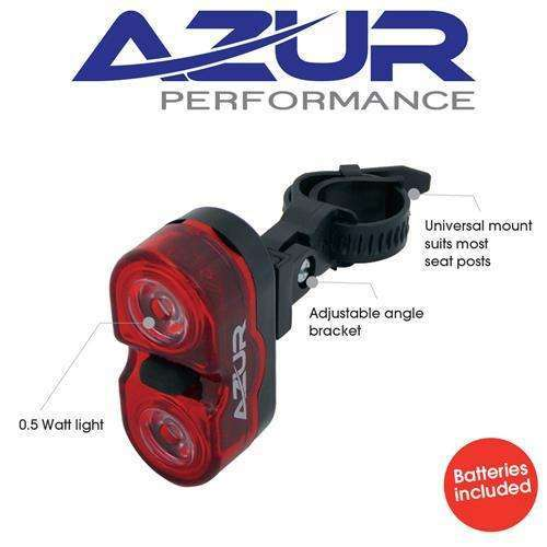 Azur Battery Rear Light