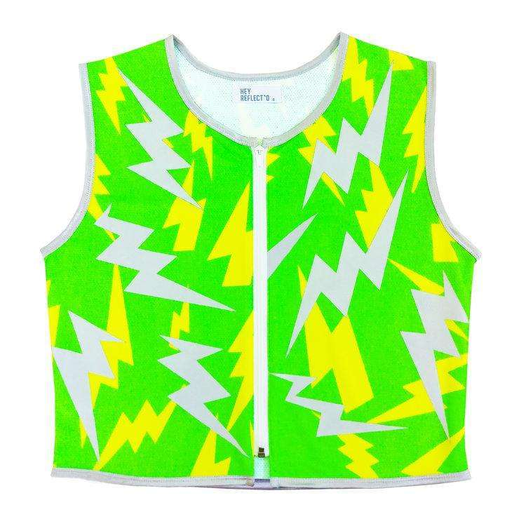 Hey Reflecto Lightning Reflective Vest