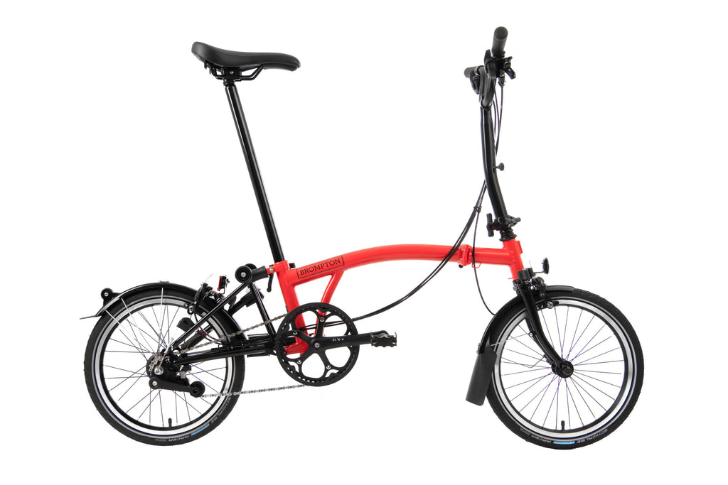 Brompton 2020 Black Edition M6L Gloss Rocket Red