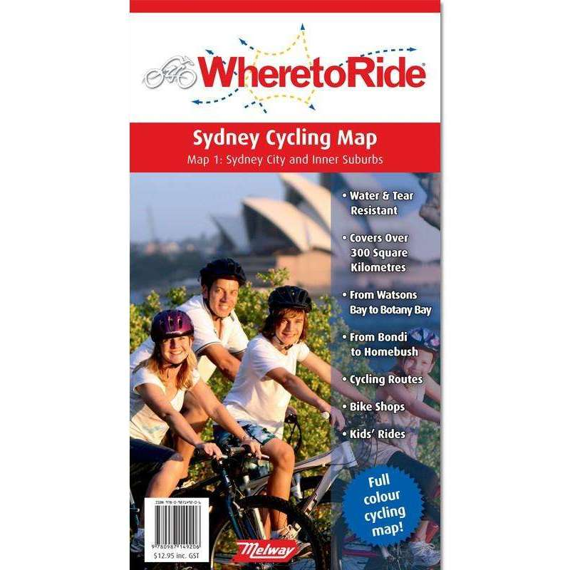 WhereToRide Sydney Map