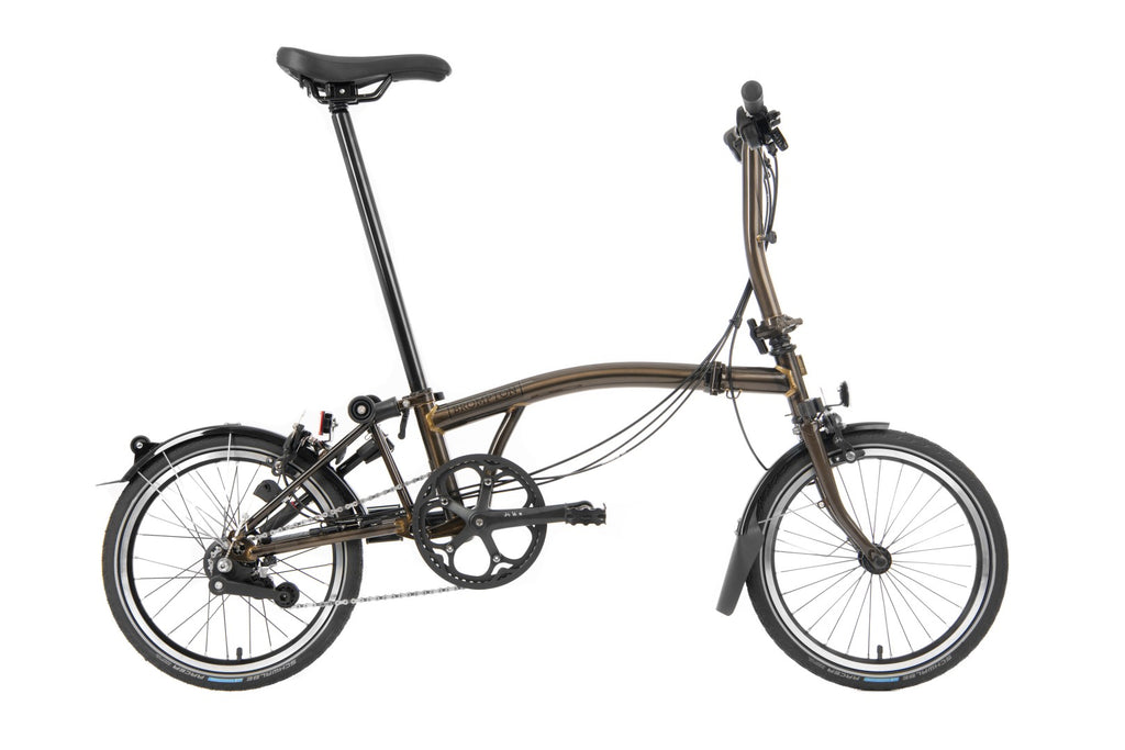 Brompton 2020 Black Edition S6L Gloss Black Lacquer