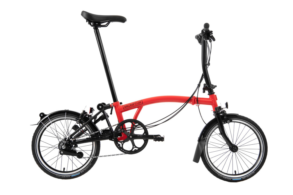 Brompton 2020 Black Edition S6L Rocket Red