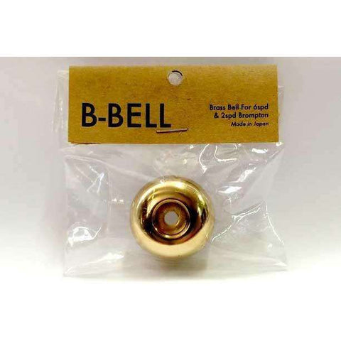 B-Bell - Brass Bell Dome for 2 and 6 Speed Bromptons