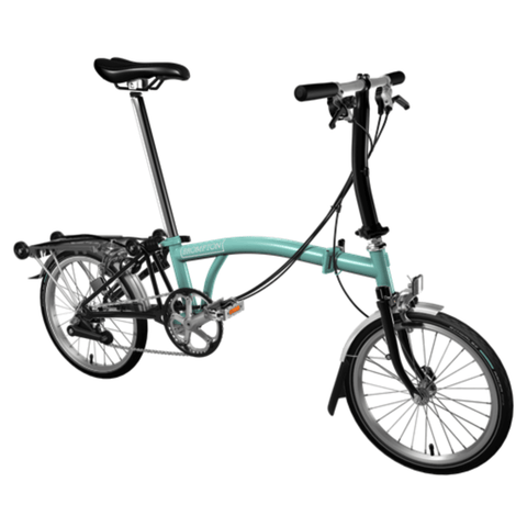 Brompton 2018 Black Edition M6R Turkish Green (with Dynamo)