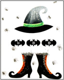 Halloween Greeting Card - Hats & Boots