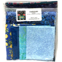 3 Yard Fabric Pack - Blues