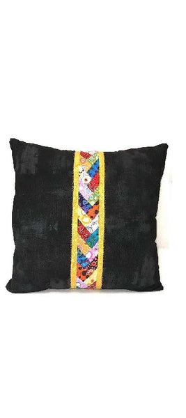 Center Braid Throw Pillow
