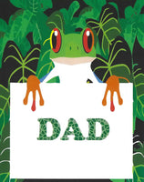 Greeting Card - Father's Day Frog