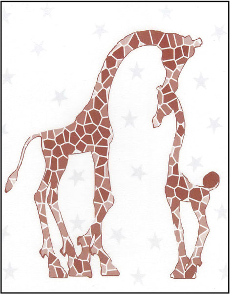 Greeting Card - Father's Day Giraffes
