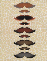 Greeting Card - Father's Day Mustaches