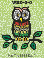 Greeting Card - Father's Day Owl