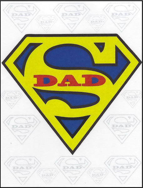Greeting Card - Father's Day Super Dad