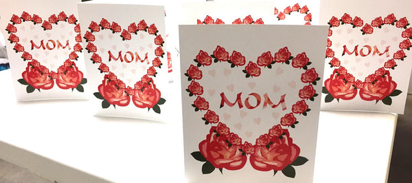 Greeting Card - Mother's Day Beautiful Roses