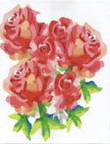 Greeting Card - Mother's Day Pink Roses