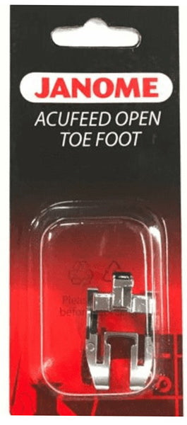 Janome - Acufeed Open Toe Foot
