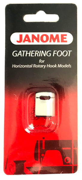 Janome Gathering Foot or Horizontal Rotary Hook Models