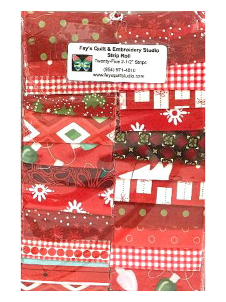 Strip Packs - Christmas Themed Reds