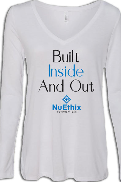 Women's Long Sleeve T (Built Inside and Out)