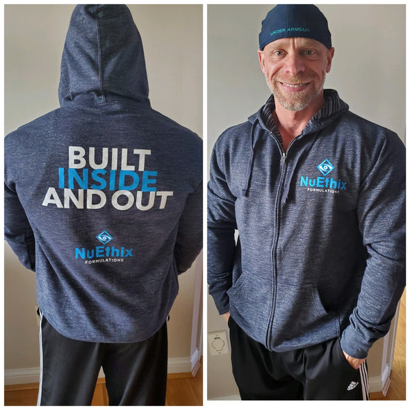 Men's Hoodie (Built Inside and Out)