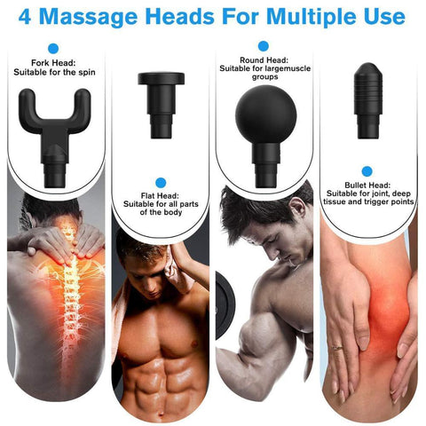 Handheld Deep Muscle Tissue Massage Gun-Massage gun-Better life wellness