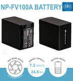 BM Premium NP-FV100A High Capacity Battery for Sony Handycam Camcorders