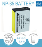 BM Premium NP-85 Battery and charger for Fujifilm FinePix S1 SL240 SL260 SL280 SL300 SL305 SL1000 Digital Cameras