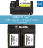 BM Premium 2 NP-85 Batteries for Fujifilm FinePix S1 SL240 SL260 SL280 SL300 SL305 SL1000 Digital Cameras