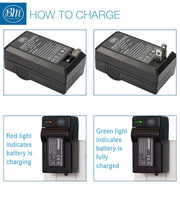 BM EN-EL19 Battery & Charger for Nikon Coolpix S3100 S3200 S3300 S3500 S3600 S3700 S4100, S4200 S4300 S5200 S5300 S6400 S6500 S6800 S6900 S7000 Camera