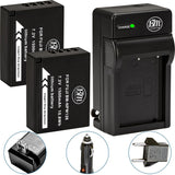BM 2 NP-W126 Batteries and Charger for Fujifilm FinePix X-A5 X-A10 X100F X-T10 X-T20 X-Pro1 X-Pro2 X-A1 X-A2 X-A3 X-E1 X-E2 X-E2S X-T1 X-T2 Cameras
