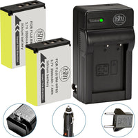 BM Premium 2 Pack of NP-85 Batteries and charger for Fujifilm FinePix S1 SL240 SL260 SL280 SL300 SL305 SL1000 Digital Cameras