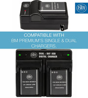 BM Premium EN-EL23 Battery for Nikon Coolpix B700, P600, P610, P900, S810c Digital Cameras