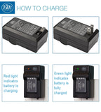 BM Premium LI-40B, LI-42B Battery and Battery Charger for Olympus Stylus 1040, 1050W, 1060, 1070, 1200, 7000, 7010, 7020, 7030, 7040 Cameras