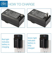 BM Premium NP-FV100 Battery and Battery Charger for Sony Handycam Camcorders