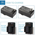 BM Premium BP-828 Battery and Charger for Canon VIXIA XA10, XA11, XA15, XA20, XA25, XA40, XA45, XA50, XA55 Camcorders