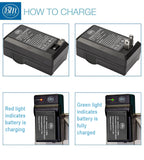 BM 3 LP-E17 Batteries and Battery Charger for Canon EOS M6 Mark II SL2 SL3 EOS RP EOS M3 EOS M5 EOS M6 Rebel T6i T6s T7i T8i EOS 77D 750D 760D Cameras