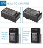 BM 2 NB-6LH Batteries and Charger for Canon PowerShot S120 SX170 IS SX260 SX280 SX500 SX510 SX520 SX530 SX540  SX600 SX610 SX700 SX710 ELPH 500 Camera