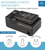 BM Premium EN-EL14A Battery and Charger for Nikon D3100 D3200 D3300 D3400 D3500 D5100 D5200 D5300 D5500 D5600 DF, Coolpix P7000, P7100, P7700 Cameras